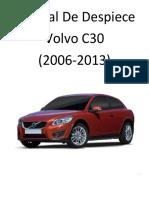 Volvo C30 (2006-2013) Manual de Despiece