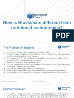02 - How Blockchain is Different From Traditional Technologies