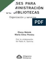 Bases para la Administración de Bibliotecas