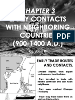 Early Contacts in Neighboring Countries