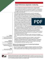 NRCP Conducting Employee Performanc Appraisals NPS