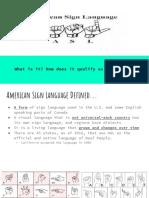 edsc 442 american sign language