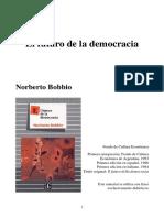 El Futuro de la democracia, Norberto Bobbio