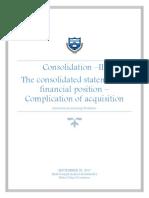 Consolidation III