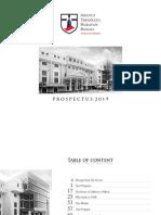 Prospectus ITHB 2019 HA FA