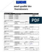 Supplier Quality Manual - Version 5_French