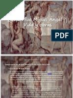 Carlos Erik Malpica Flores - ¿Quién fue Miguel Ángel ?| Vida y obras