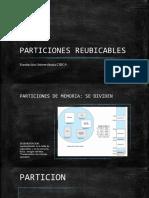 PARTICIONES REUBICABLES