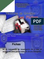 Presentación de Fichas