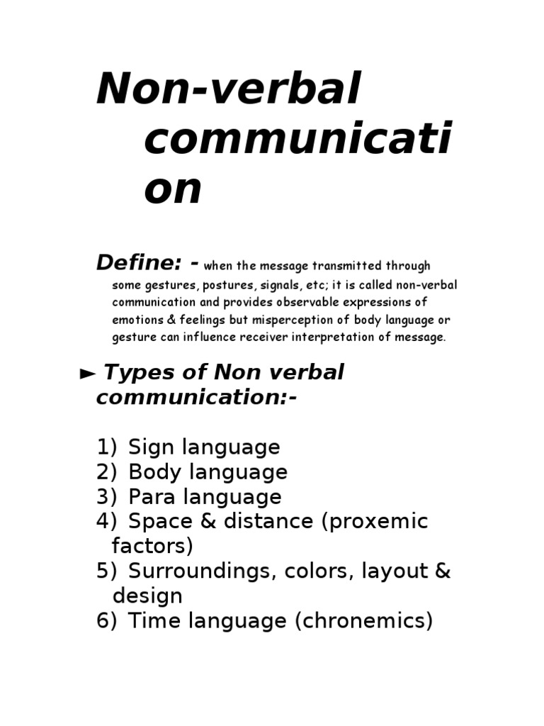 Non Verbal Communication Nonverbal Communication Body Language Artifacts artifacts are physical objects, such as clothing, homes, and cars, that. non verbal communication nonverbal