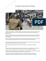 Riwayat Konflik Pakistan Dan India Di Tanah Kashmir