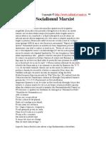 Socialismul marxist
