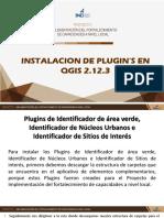 Instalador de plugins en Ogis 2.12.3