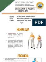 Rehabilitacion en Pacientes Hemiplejicos