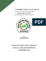 Strategi Pembelajaran Agama Islam