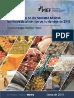 Informe CBF de Alimentos - Noviembre 2018