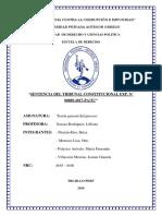 Analisis de Sentencia Maria Caceres Diaz de Tinoco