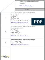 Maths previous paper cbse class 12