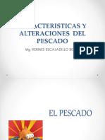CARACTERISTICAS Y ALTERACIONES  DEL PESCADO.pptx