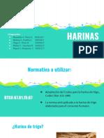 Parametros de Calidad en Harinas