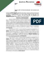 Escrito de Impugnación de Pruebas parte accionada - Cerámica Carabobo