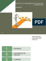 Propiedades de Los Componentes de Fluidos de Completación