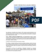 Noticias - Balanza Comercial