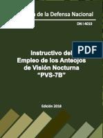 Instructivo Del Empleo de Los Anteojos de Visión Nocturna PVS7-B