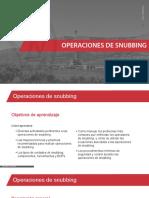 Operaciones de Snubbing