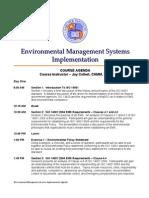 EMS Agenda