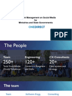 Social Media Complaint Management Government