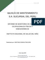 Informe de Monitoreo Ibermansa Insn 2019