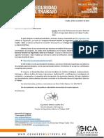 Eduardo Azabache - Invitación y Beca a Congreso SST