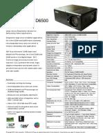 Projector D5500 D6500