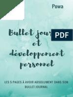 bullet-journal-et-développement-personnel