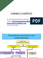 Cambio Climático Cuzco