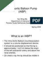 Intra Aortic Balloon Pump (IABP) 2009