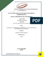 ACTIVIDAD N°12-AUDITORIA FINANCIERA-AUDITORIA DEL PATRIMONIO