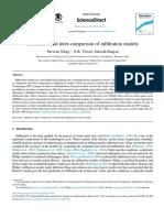 Estimation and Inter-comparison