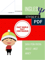 Simple Past vs Past Continuos 1