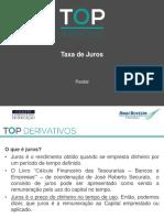 Derivativos Juros TOP Parddal 10