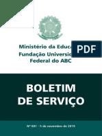 Boletim Servico Ufabc 891