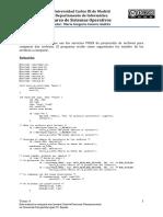 Sistema Operativo ejemplos y ejercicios