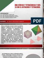 Trama Cubica y Tetraedrica