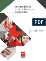 Estrategia Madrileña de Atención a Personas con Discapacidad (2018-2022)