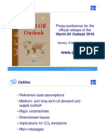 World Oil Outlook 2010 - Press Conference