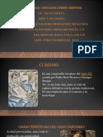 Cubismo. Presentación 14-11-2019