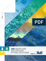 AVK Interactive Fitting Solutions Brochure 2019