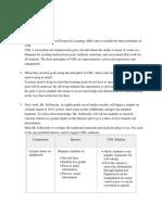 IAE Assessment sheets