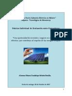 Plan de negocio para planta fotovoltaica en Chihuahua